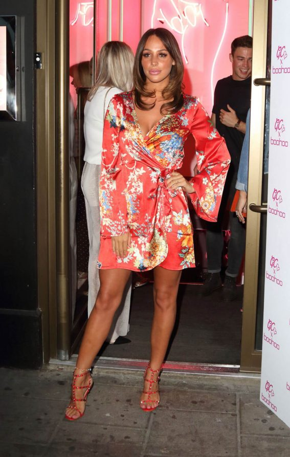 Amber Dowding at Boohoo x Gemma Collins Launch Party in London 2018/05/23 1