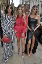Amber Dowding, Chloe Sims, Shelby Tribble and Georgia Kousoulou  at Rosso Restaurant in Manchester 2018/06/13 6