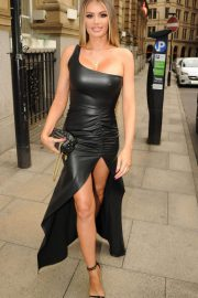 Amber Dowding, Chloe Sims, Shelby Tribble and Georgia Kousoulou  at Rosso Restaurant in Manchester 2018/06/13 8