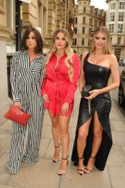 Amber Dowding, Chloe Sims, Shelby Tribble and Georgia Kousoulou  at Rosso Restaurant in Manchester 2018/06/13 12