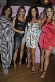 Amber Dowding, Chloe Sims, Shelby Tribble and Georgia Kousoulou  at Rosso Restaurant in Manchester 2018/06/13 13