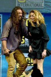 Amber Heard at Aquaman Theatrical Panel at Comic-con in San Diego 2018/07/20 2