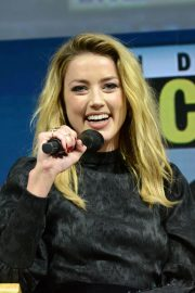 Amber Heard at Aquaman Theatrical Panel at Comic-con in San Diego 2018/07/20 3