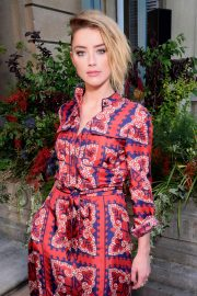 Amber Heard at Valentino Show at 2018 Haute Couture Fashion Week in Paris 2018/07/04 9