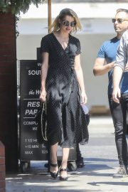 Amber Heard Out for Lunch at Honor Bar in Beverly Hills 2018/07/24 7