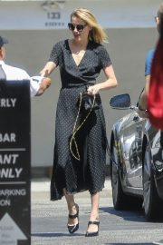 Amber Heard Out for Lunch at Honor Bar in Beverly Hills 2018/07/24 8