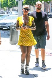 Amber Rose Out and About in Beverly Hills 2018/07/24 5