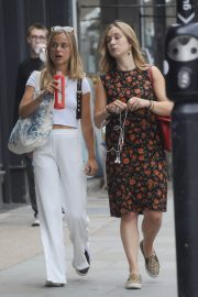 Amelia Windsor Leaves Bodyism in Notting Hill 2018/07/20 10