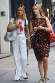 Amelia Windsor Leaves Bodyism in Notting Hill 2018/07/20 11