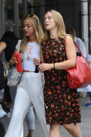 Amelia Windsor Leaves Bodyism in Notting Hill 2018/07/20 12