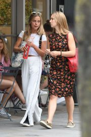 Amelia Windsor Leaves Bodyism in Notting Hill 2018/07/20 13