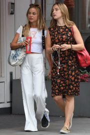 Amelia Windsor Leaves Bodyism in Notting Hill 2018/07/20 14