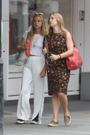 Amelia Windsor Leaves Bodyism in Notting Hill 2018/07/20 15