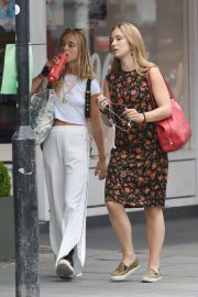 Amelia Windsor Leaves Bodyism in Notting Hill 2018/07/20 16