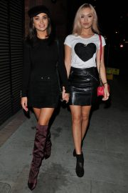 Amy Jackson and Roxy Horner at Ego by Ella Eyre Single Launch Party in London 2018/07/15 1