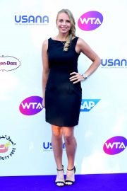 Anett Kontaveit at WTA Tennis on the Thames Evening Reception in London 2018/06/28 2