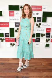 Angela Scanlon at Audi Polo Challenge at Coworth Park Polo Club 2018/07/01 1