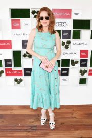 Angela Scanlon at Audi Polo Challenge at Coworth Park Polo Club 2018/07/01 2