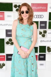 Angela Scanlon at Audi Polo Challenge at Coworth Park Polo Club 2018/07/01 4