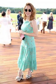 Angela Scanlon at Audi Polo Challenge at Coworth Park Polo Club 2018/07/01 5