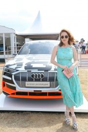 Angela Scanlon at Audi Polo Challenge at Coworth Park Polo Club 2018/07/01 6