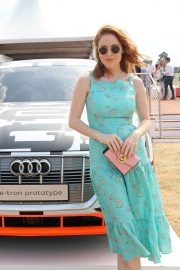 Angela Scanlon at Audi Polo Challenge at Coworth Park Polo Club 2018/07/01 7