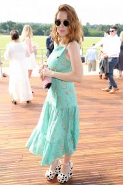 Angela Scanlon at Audi Polo Challenge at Coworth Park Polo Club 2018/07/01 8