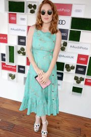 Angela Scanlon at Audi Polo Challenge at Coworth Park Polo Club 2018/07/01 9