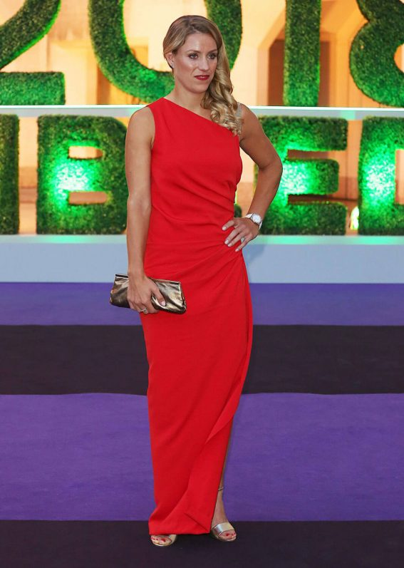 Angelique Kerber at Wimbledon 2018 Champions Dinner at Guildhall in London 2018/07/15 1