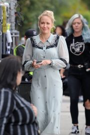 Anna Camp on the set of the wdding year in los angeles 2018/05/31 1