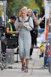 Anna Camp on the set of the wdding year in los angeles 2018/05/31 2