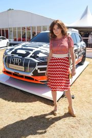 Anna Friel at Audi Polo Challenge at Coworth Park Polo Club 2018/07/01 1