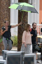 Anne Hathaway on the Set of The Last Thing He Wanted in San Juan 2018/07/02 9