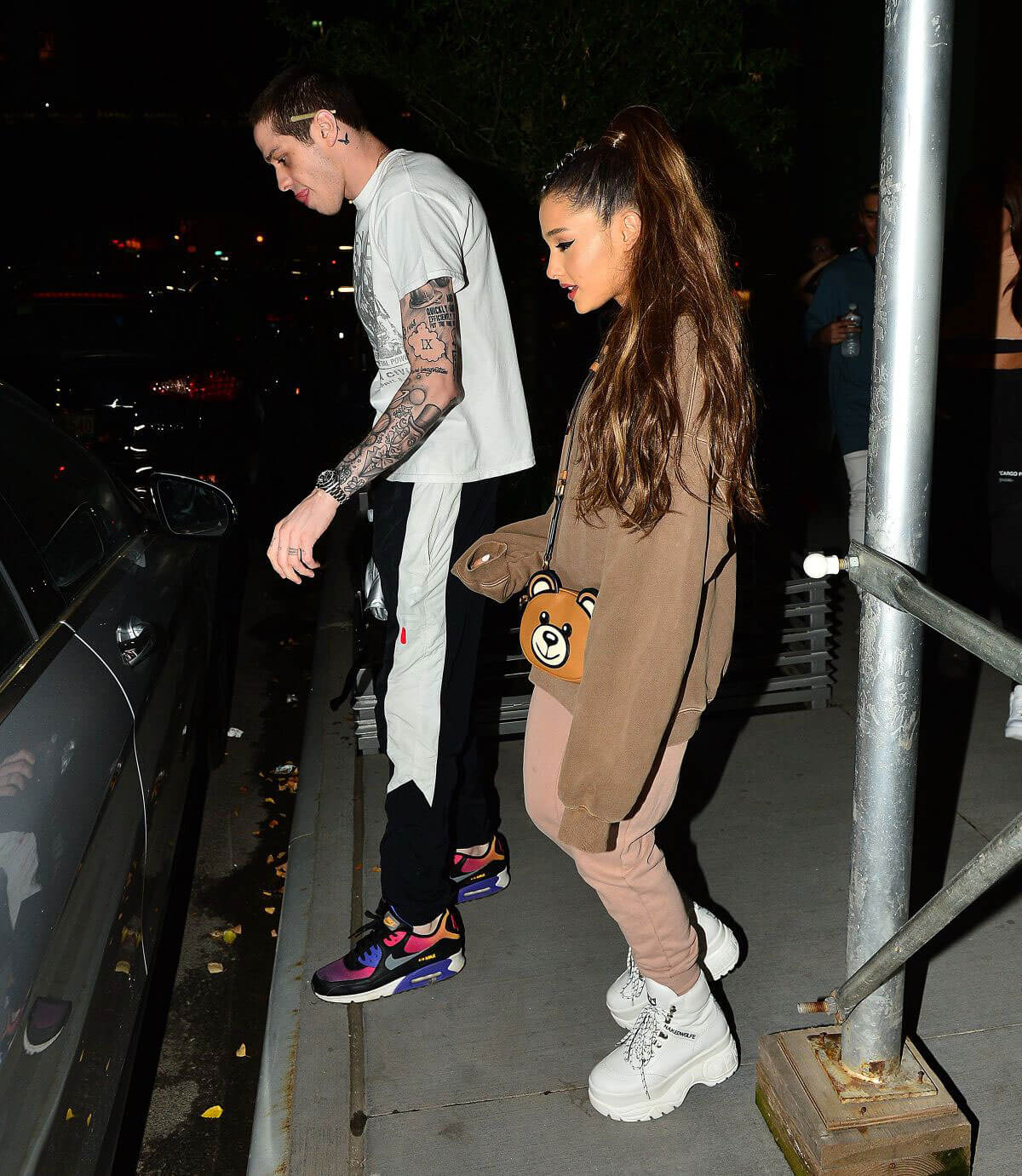 Ariana Grande and Pete Davidson Night Out in New York 2018/07/02 1