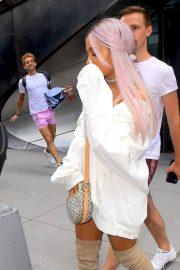 Ariana Grande Out and About in New York 2018/07/18 10