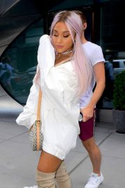 Ariana Grande Out and About in New York 2018/07/18 11