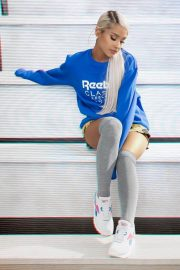 Ariana Grande Poses for Reebok Always Classic 2018 Issue 3