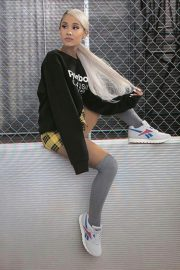 Ariana Grande Poses for Reebok Always Classic 2018 Issue 4