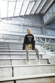 Ariana Grande Poses for Reebok Always Classic 2018 Issue 5