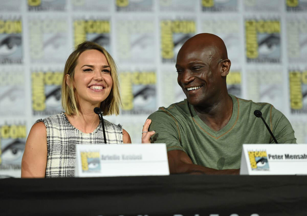 Arielle Kebbel at The Midnight Texas Panel at Comic-Con in San Diego 2018/07/21 1