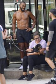 Ashley Graham and Justin Ervin Workout at Dogpound Gym in New York 2018/07/24 4