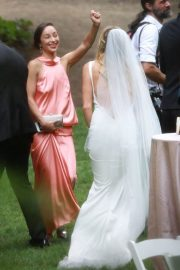 Ashley Greene and Paul Khoury at Their Wedding Reception in San Jose 2018/07/07 8