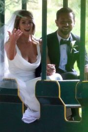 Ashley Greene and Paul Khoury at Their Wedding Reception in San Jose 2018/07/07 19