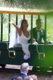 Ashley Greene and Paul Khoury at Their Wedding Reception in San Jose 2018/07/07 21
