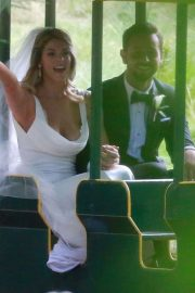 Ashley Greene and Paul Khoury at Their Wedding Reception in San Jose 2018/07/07 22
