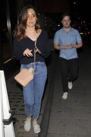 Aubrey Plaza in Jeans at Sexy Fish in Mayfair 2018/07/18 3