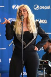 Bebe Rexha Announce a Partnership Between Madison Square Garden and Pepsico in New York 2018/07/24 1