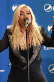 Bebe Rexha Announce a Partnership Between Madison Square Garden and Pepsico in New York 2018/07/24 5