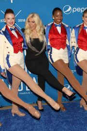 Bebe Rexha Announce a Partnership Between Madison Square Garden and Pepsico in New York 2018/07/24 8