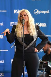 Bebe Rexha Announce a Partnership Between Madison Square Garden and Pepsico in New York 2018/07/24 9